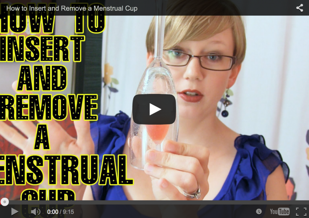 How to Remove a Menstrual Cup