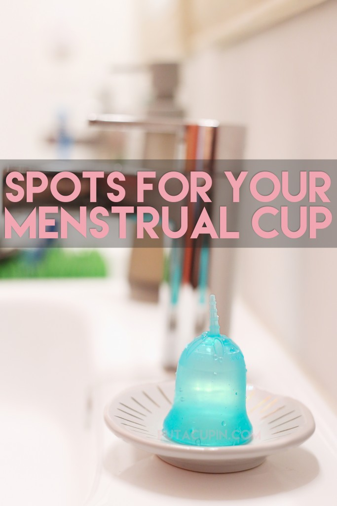 Creative spot ideas for your menstrual cup!