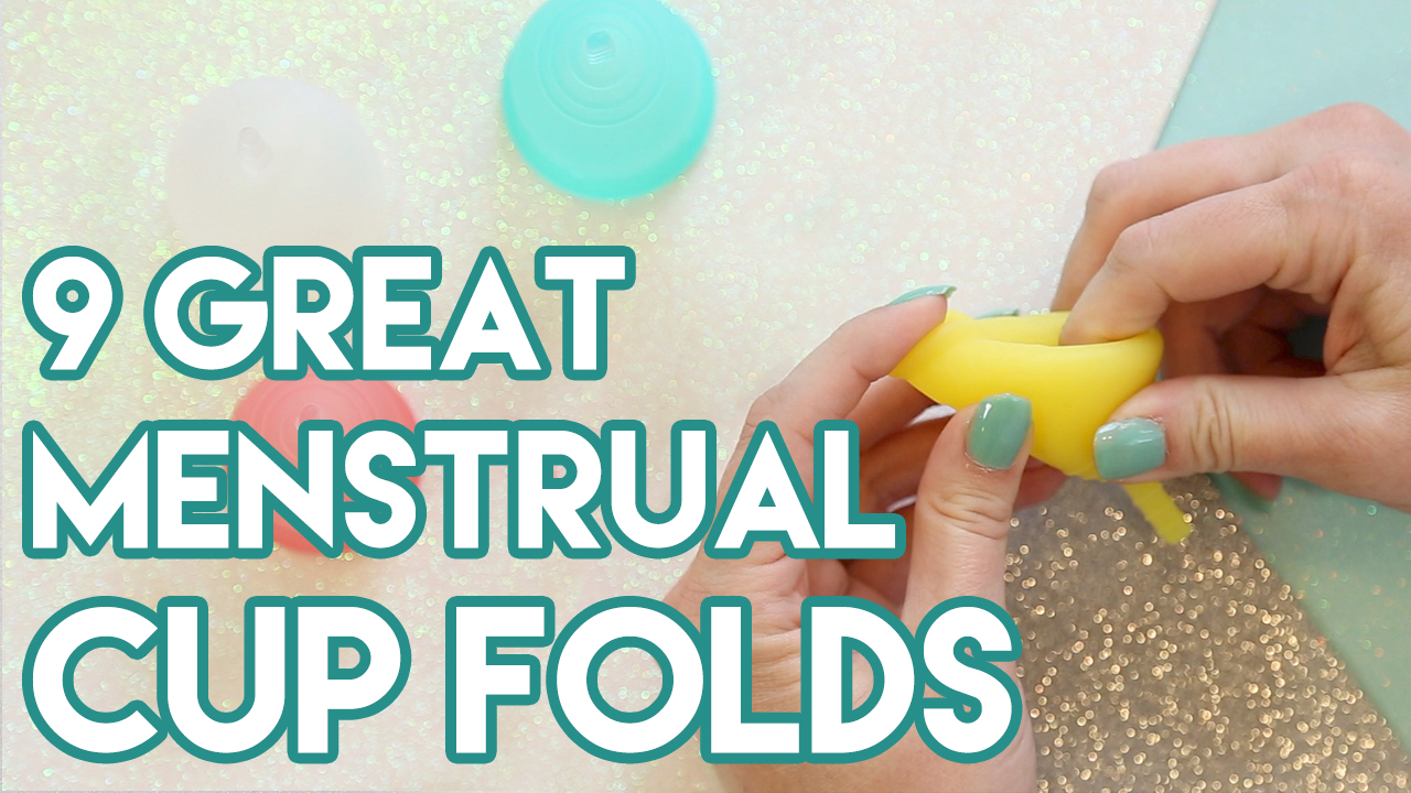 9 Great Menstrual Cup Folds
