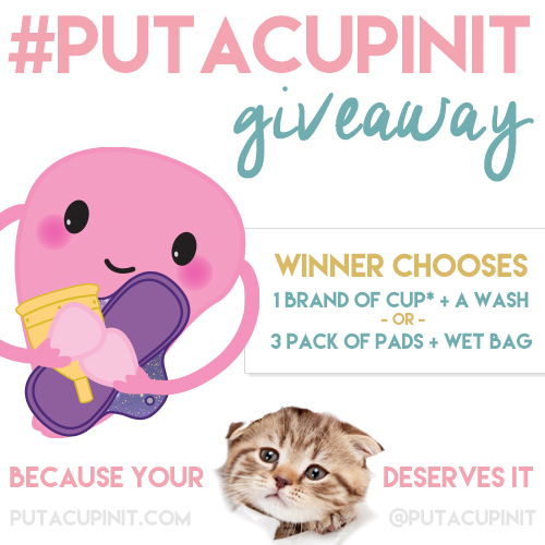A Giveaway: Because #PutACupInIt