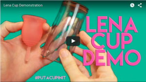 Lena Cup video demonstration- love this cup!