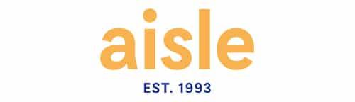 Image of logo that reads aisle est. 1993