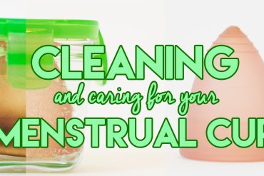 Menstrual Cup Cleaning